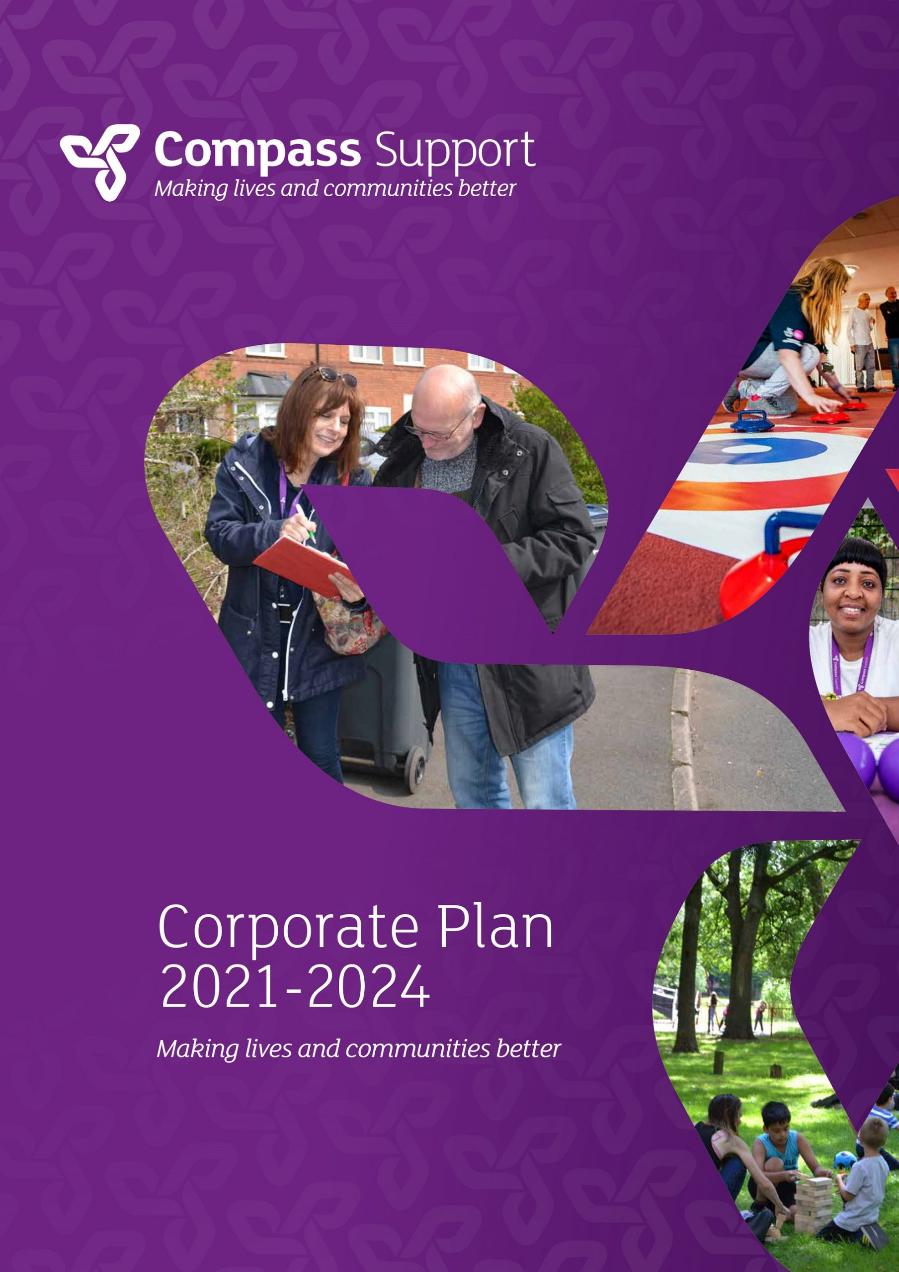 Compass Support - Corporate Plan 2021-24